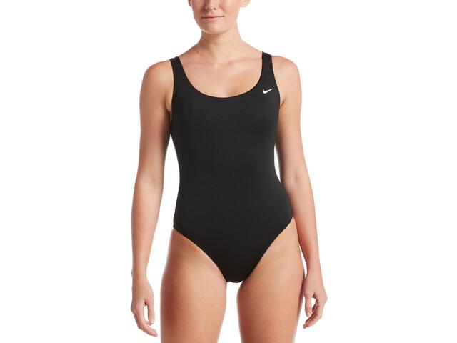 Nike Swim Essential Traje Baño Una Pieza Mujer, black